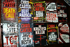CHRIS CARTER Buchpaket 10 Kriminal -Thriller