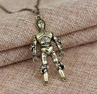 NEW Star Wars Plated C3PO Necklace - Great Gift