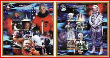 MICRONESIA 1998 JOHN GLENN twice in SPACE x2 mini SHEET mnh FACE VALUE USA