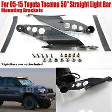 05-15 Toyota Tacoma 50 Inch Straight LED Light Bar Mounting Brackets Holder