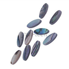 10pcs Abalone Oblong Inlay Dots Fret Markers For Guitar Fingerboard Banjo