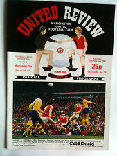 1981/82 Manchester United v Manchester City 1st Division with Token