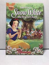 Walt Disneys Snow White Seven Dwarfs Book Disney Wonderful World of Reading 2007