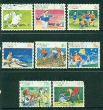 1989 Australian Decimal - Sports Series I -  USED Sheet [7087]