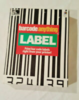 Zebra Barcode Anything LABEL  - Print bar code labels right from your printer!!