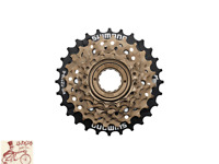 SHIMANO MF-TZ500 14-28T  6-SPEED BROWN MTB-ROAD-HYBRID-CRUISER FREEWHEEL