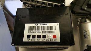 08 09 Pontiac G8 GT Holden BCM Body Control Module 15921353 2008 2009