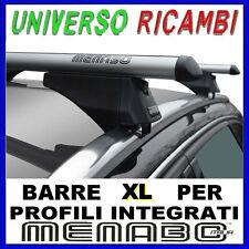 Barre Portatutto Menabo TIGER SILVER 135 FIAT 500 X 5p. DAL 2015>