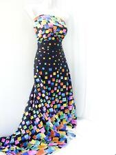 "(15,90 €/m), 150 cm breit,  ""Abstrakt"" Baumwolle Jersey , Digital , multicolor"