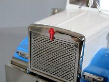 "1pc 1.8cm Kenworth ""KW"" Logo Emblem Tamiya R/C 1/14 King Grand Hauler Globeliner"