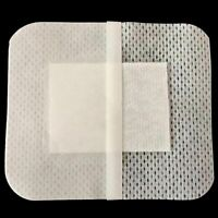 10pcs Non-Woven Medical Adhesive Wound Dressing Large : Bandage Aid Band L5I1