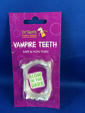 fake teeth vampire fangs glow in the dark fangs halloween dracula fancy dress