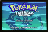 Pokemon Emerald Version Nintendo Game Boy Advance GBA Game | Tested | US Seller!