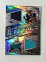 SONY MICHEL 2018 Spectra Rivals SILVER PRIZM SP RC DUAL JERSEY /199 w/ BALLAGE!