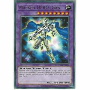 TOCH-EN046 Masked HERO Dian | Unlimited Rare YuGiOh Trading Card TCG Toon Chaos