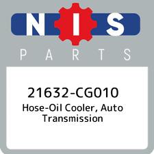 21632-CG010 Nissan Hose-oil cooler, auto transmission 21632CG010, New Genuine OE