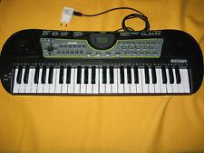 Bontempi 154909 Digitales Keyboard. 49 Midi-Tasten C-C mit Netzteil Schwarz/Weiß