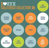 CD ZYX Italo Disco Collection 26 von Various Artists 3CDs