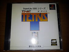 THE TETRIS SONY PLAYSTATION 15 VIDEOGAMES PS JAP JAPANESE PSX PS1