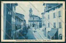 Grosseto Castel del Piano cartolina QQ3474
