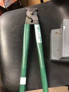 Greenlee 718 18-Inch Heavy Duty Manual Cable Cutter for Copper/Aluminum Cables