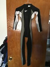 mens swimsuit Speedo Fastskin FullBody WITH ARMS technical swimming racing XS S
