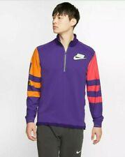 Nike Wild Run Therma Long-Sleeve Running Top Purple Men's L New Bv5603 547