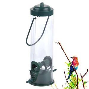Vogelhäuser Vogelfutterhaus Vogelfutterspender Kunststoff Hängend Bird SAFE le