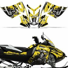 Rev XR Decal Graphic Kit Ski Doo Skidoo Sled Snowmobile Wrap Summit 13+ REAP YLW
