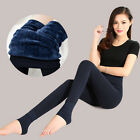 Womens Ladies Fleece Thermal Winter Warm Stretch Skinny Thicken Pants Leggings