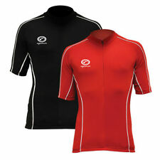 Men's Short Sleeve Cycling Jerseys with High Visibility