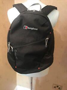 Berghaus 24/7 - 20L Day Pack Back Pack Rucksack - Black - VGC