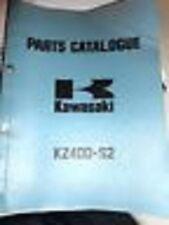 Kawasaki Parts Catalog Manual 1976 KZ400 S2