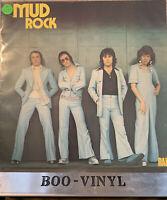Mud  Mud Rock  1974 Vinyl LP    A-1 Original First Pressing   GLAM ROCK EX / EX