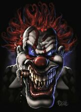 SCARY CLOWN POSTER RARE NEW 16X20 COLLECTOR - PRINT IMAGE PHOTO -PW0