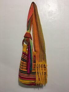MOCHILA WAYUU / LARGE SIZE /HANDMADE COLOMBIAN BOHO BAG