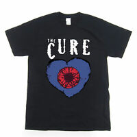 The Cure Friday I'm In Love Rock Music Band CD T Shirt black