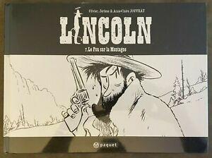 Lincoln t.7 Jouvray édition spéciale N&B Paquet !!! DESTOCK à partir de 1 € !!!