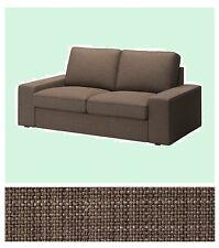 "IKEA Kivik Loveseat 2-Seat Isunda BROWN""Tweed""Cover Sofa(Mates Avail)Slipcover"