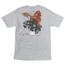 Independent Trucks Steve Caballero Dragster Skateboard T Shirt Ash Large