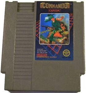 NES Game Commando Cartridge Only