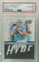Mitchell Trubisky 2017 Score Hype RC # 3 PSA 10 Gem Mint Invest now Bears Rookie