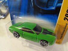 Hot Wheels Dodge Challenger Concept 2007 New Models Green PR5
