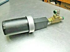 Vaccon high flow silencer FA-51 1/2 w/ Fittings as shown