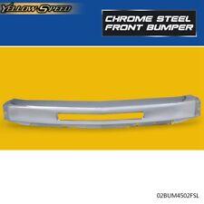 Front Bumper Impact Face Bar Chrome Steel Fit For 2007 2013 Chevy Silverado 1500 Fits 2013 Silverado 1500