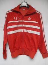 Veste ADIDAS FIRST vintage rouge jacket giacca ROBERT SPORT années 80 sport  S 5c7f1b52152