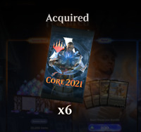 Core Set 2021 MTG Arena 6 boosters Code (Prerelease Code) Email Delivery