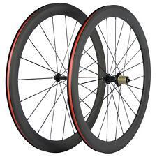 700C 50mm Full Carbon Fiber Wheels Toray Clincher carbon wheels Bicycle Wheelset
