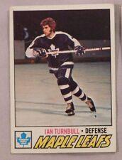 1977 topps Ian Turnbull Toronto Maple Leafs #186 Hockey Card nm