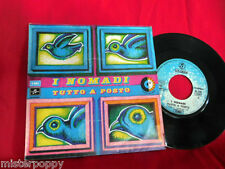 I NOMADI Tutto a posto 45rpm 7' + PS 1974 ITALY BEAT PROG MINT 1a Stampa